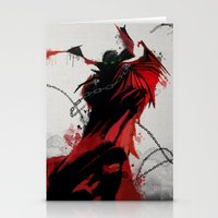 spawn Stationery Cards featuring Spawn by Scofield Designs