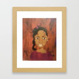 Chyna Framed Art Print