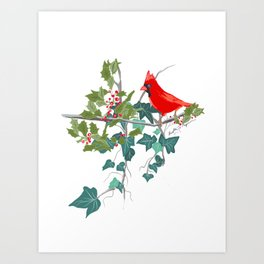 Holly and the Ivy Art Print