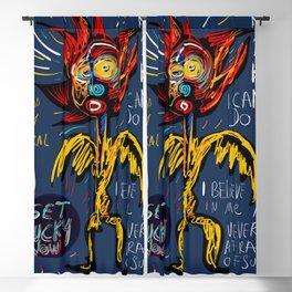 Get Lucky Now Street Art Graffiti Blackout Curtain