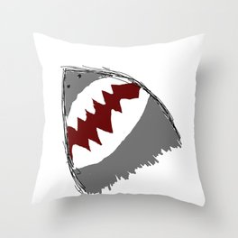 am i scary yet? Throw Pillow