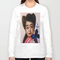 ahs Long Sleeve T-shirts featuring Ma Petite-AHS by MELCHOMM