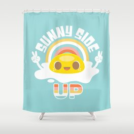 Sunny Side Up! Shower Curtain