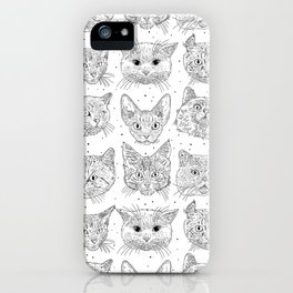 Cats, cats, cats iPhone Case