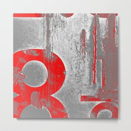 leave it to the numbers Metal Print