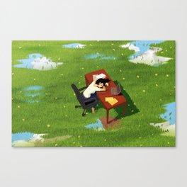 Field Work Canvas Print