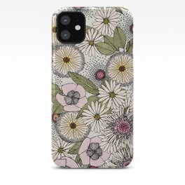 Australian garden chalk iPhone Case