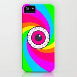 Neon Gaze iPhone Case