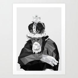 Watson Monkey Poster Art Print