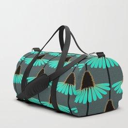 Wistful Black-Eyed-Susan Duffle Bag