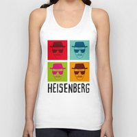 popart Tank Tops featuring Heisenberg Popart by Nxolab