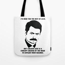 Swanson quote Tote Bag