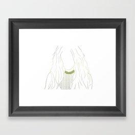 Britney Spears Glory print GOLD Framed Art Print