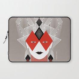 The Queen of diamonds Laptop Sleeve