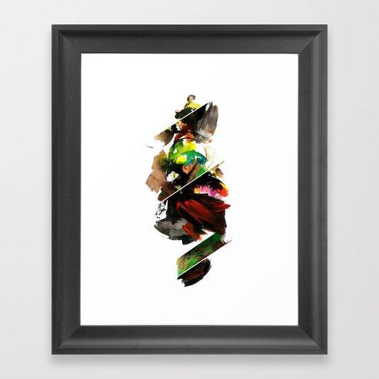 color study 1 Framed Art Print