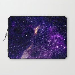 Ultra violet purple abstract galaxy Laptop Sleeve