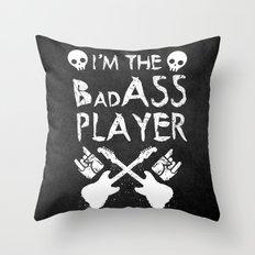 BadASS Player Throw Pillow