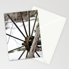 Broken Wheel Stationery Cards