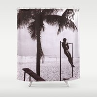 rio Shower Curtains featuring Rio III  by MrEMOCIONES