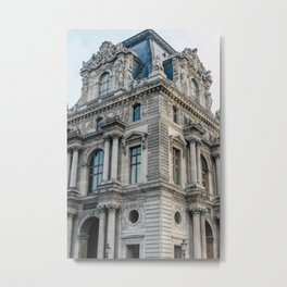 Parisian Architecture Metal Print