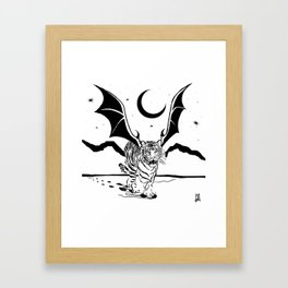 Flying Tiger Framed Art Print