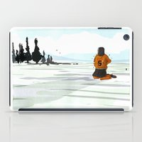 lonely iPad Cases featuring Lonely by Lee Grace Illustration