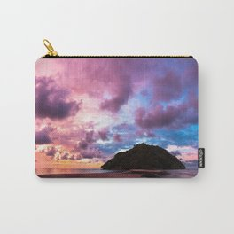 Beautiful beach landscape sunset Carry-All Pouch