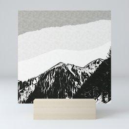 Montain Mini Art Print
