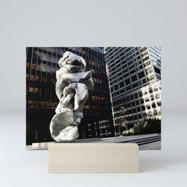 Seagram detail NYC Mini Art Print
