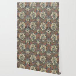 Indian 20th Century Paisley Wallpaper