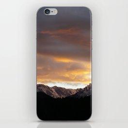 Sunset on Trail Ridge 3 iPhone Skin