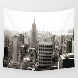 Static Empire Wall Tapestry
