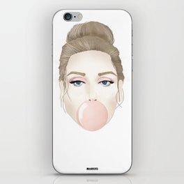 Covergirl bubblegum iPhone Skin