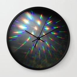 light lines Wall Clock