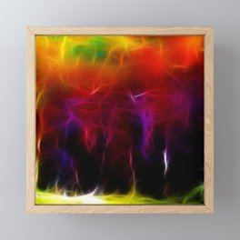 Colorful Forest Digital Framed Mini Art Print