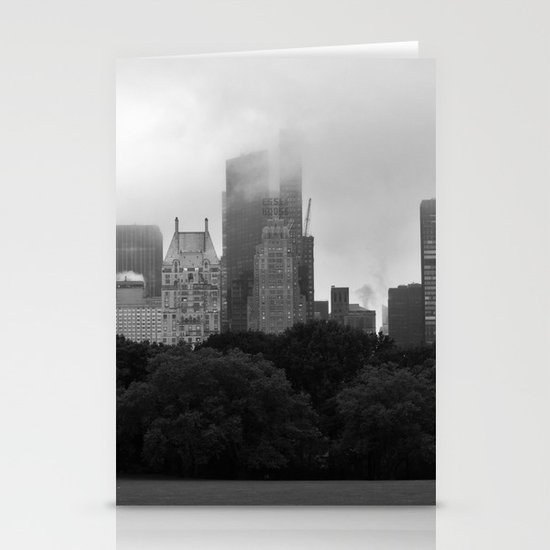 fog in city... Stationery Cards