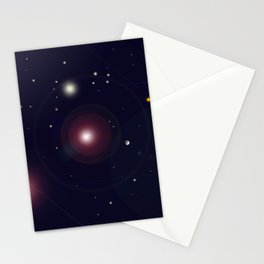 The Universe through the Stars Stationery Cards