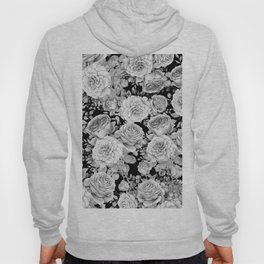 ROSES ON DARK BACKGROUND Hoody