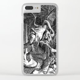 The Jabberwocky Clear iPhone Case