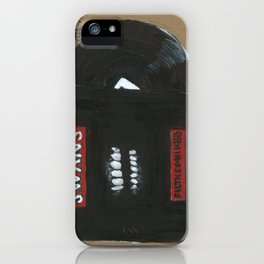 Diddie Doodle Swans Filth iPhone Case