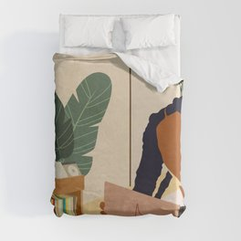 Stay Home No. 4 Duvet Cover