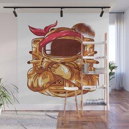 Gangsta Astronaut Wall Mural