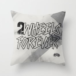 FOREVER 2 Throw Pillow