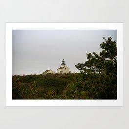 Cabrillo Lighthouse Art Print
