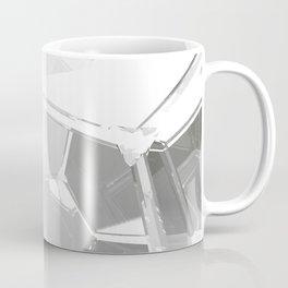 White Fractal Coffee Mug