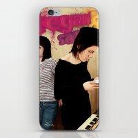 tegan and sara iPhone & iPod Skins featuring Tegan and Sara by Mr. Frogo