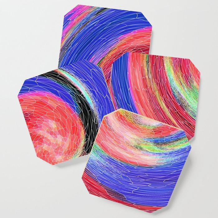 Flower Swirl Coaster