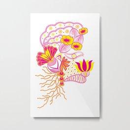 The Florist ! Metal Print