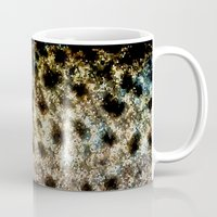 trout Mugs featuring Trout Scales II by Mister Groom