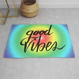 Good Vibes - Rainbow Pride Rug